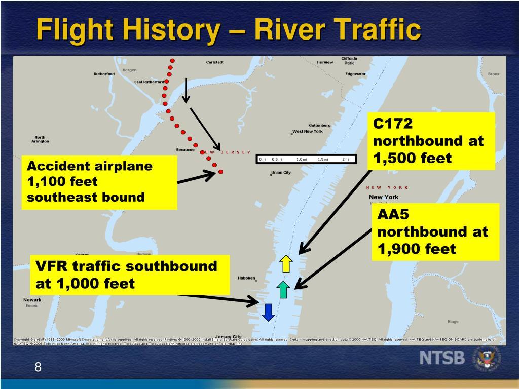 Flight History – River Traffic