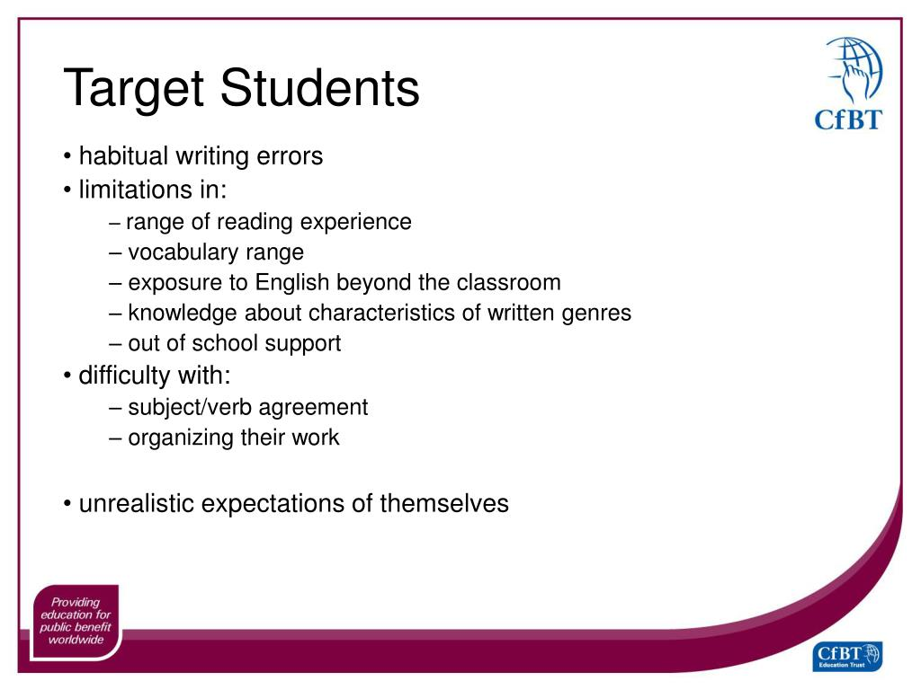 Target Students