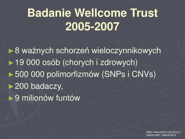 Badanie Wellcome Trust