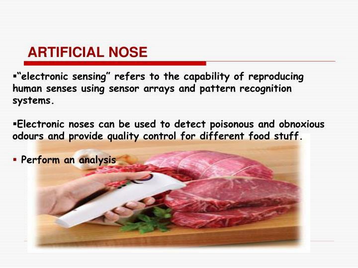 ARTIFICIAL NOSE