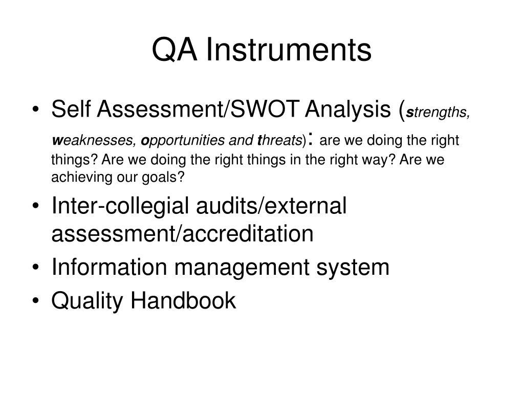 QA Instruments