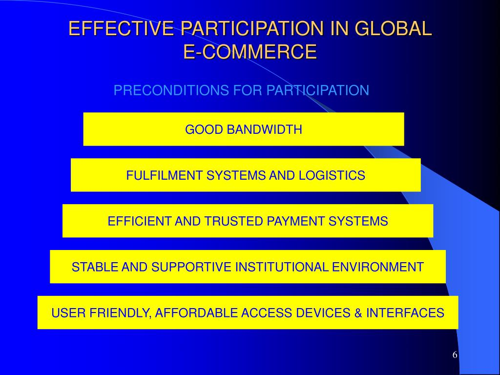 EFFECTIVE PARTICIPATION IN GLOBAL