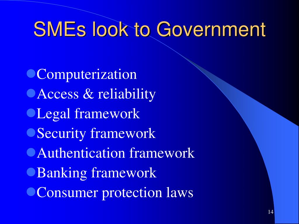 SMEs look to Government