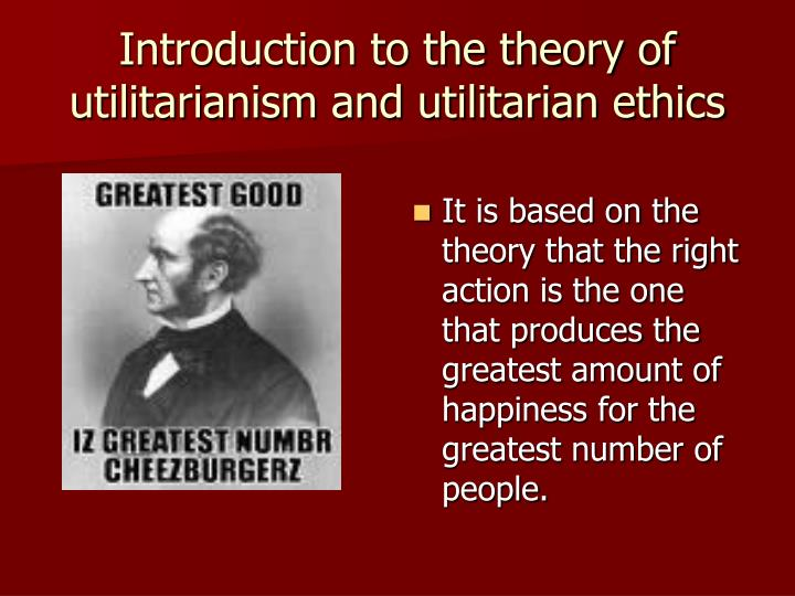 theory of utilitarianism essay The act utilitarianism is a part of the general utilitarian theory, related to the ethics the founders of this theory are j bentham, j s mill, and h sidgwick.