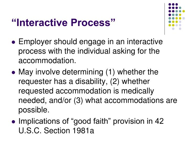 """Interactive Process"""