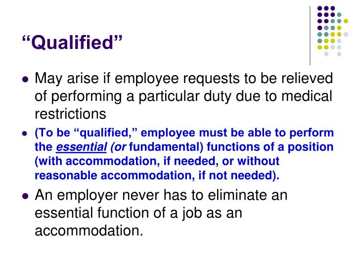 """Qualified"""