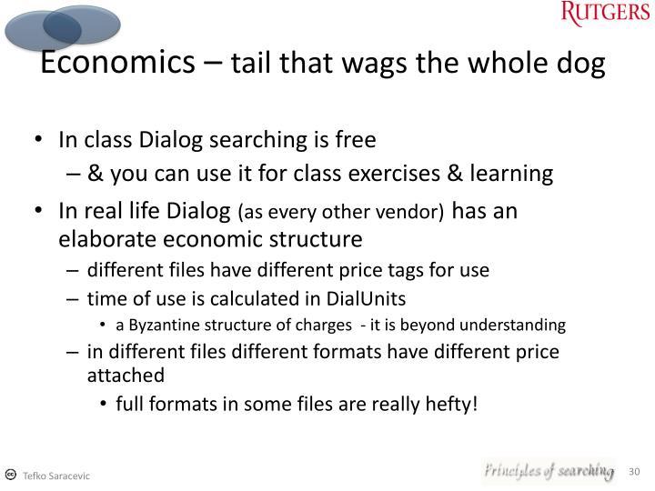 Economics –
