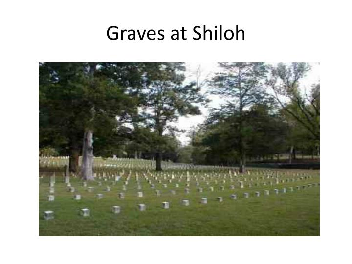 Graves at Shiloh