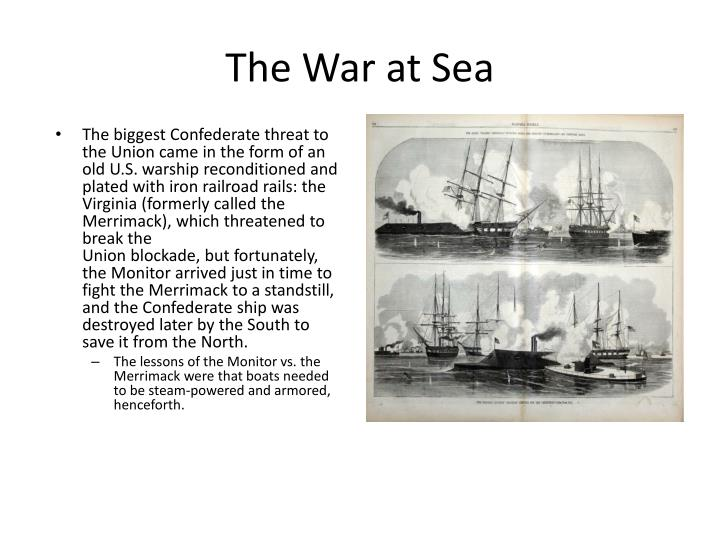 The War at Sea
