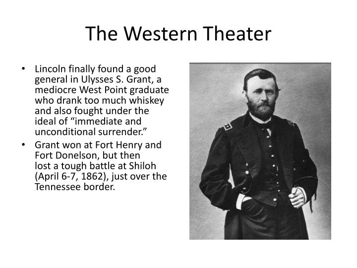 The Western Theater