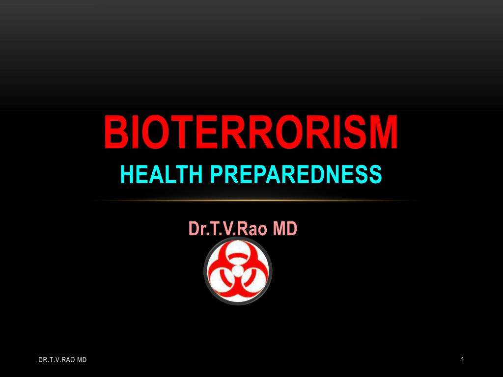 bioterrorism health preparedness