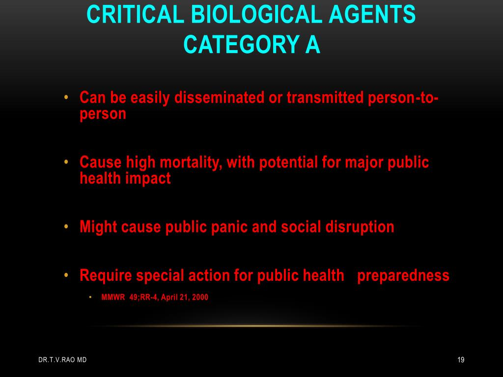 Critical biological
