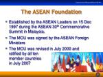 the asean foundation