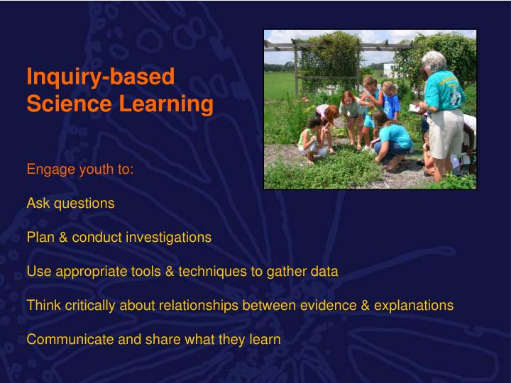 Inquiry-based