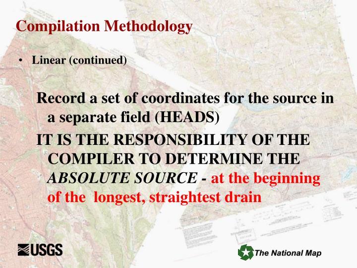 Compilation Methodology