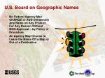 u s board on geographic names1
