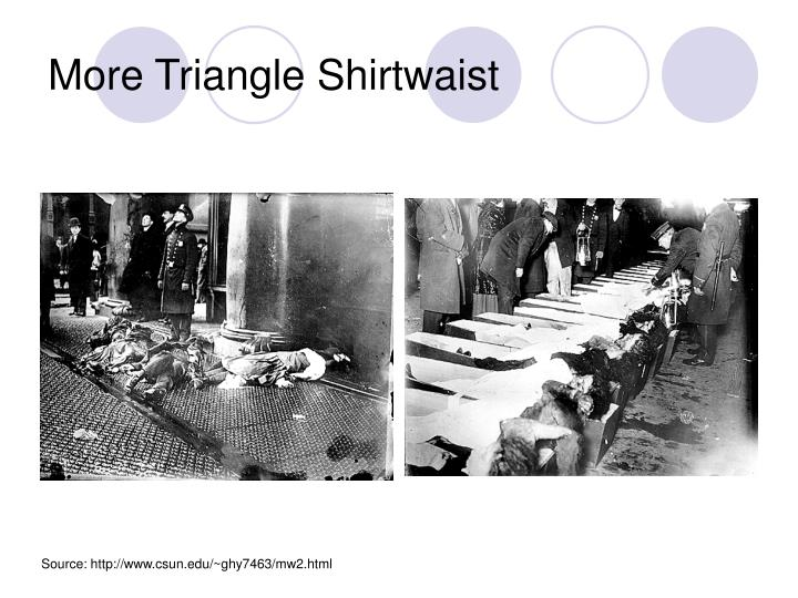 More Triangle Shirtwaist