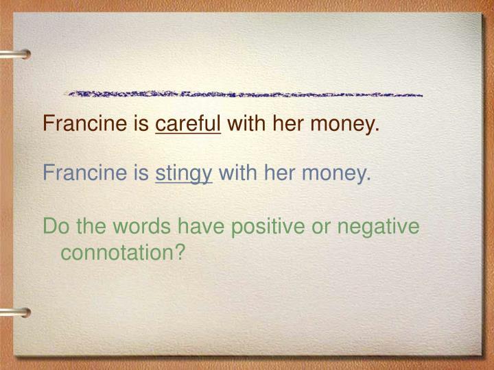 Francine is