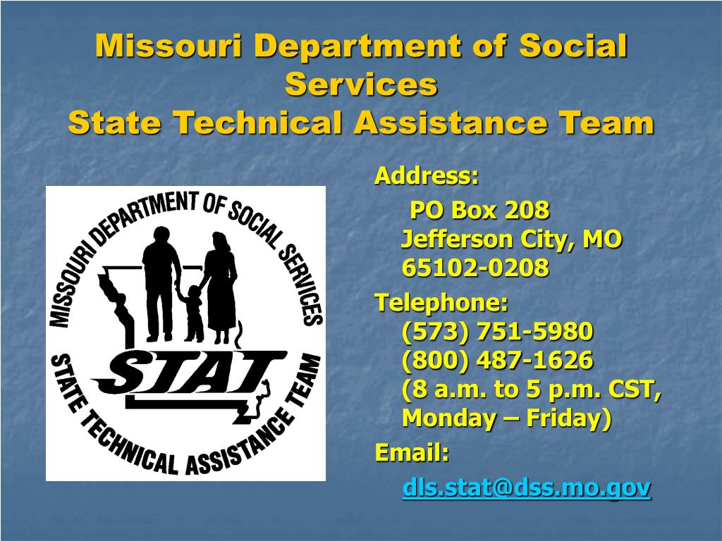 Missouri Department of Social Services