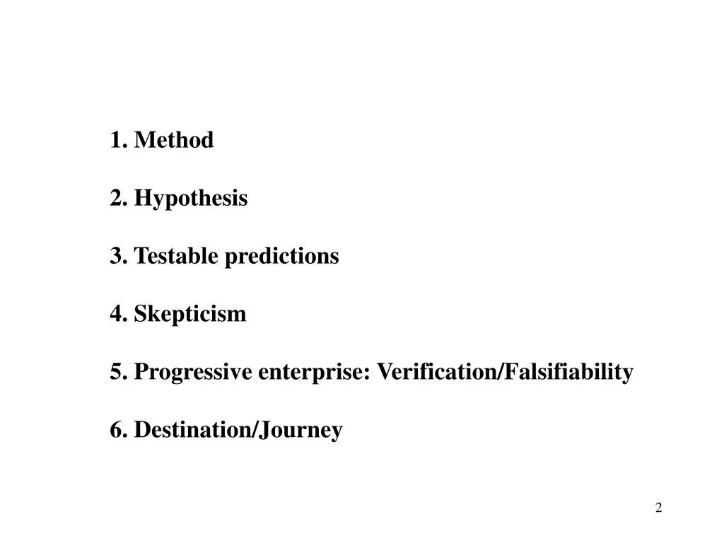 1. Method