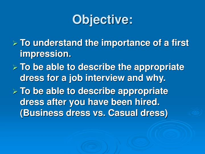 importance of first impressions in business pdf
