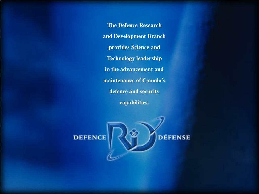 The Defence Research