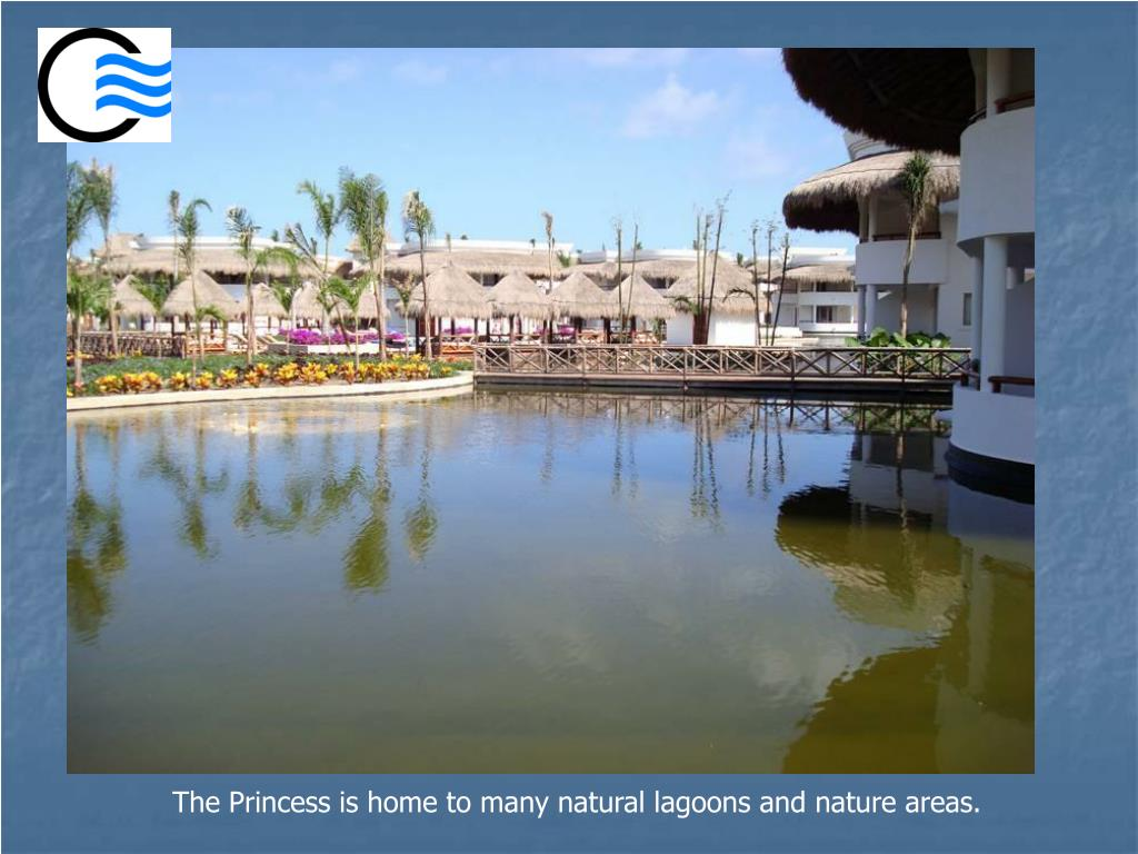 The Princess is home to many natural lagoons and nature areas.