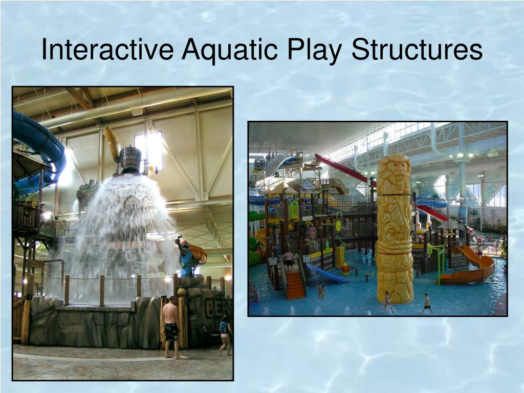 Interactive Aquatic Play Structures