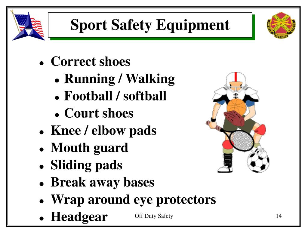 Sport Safety Equipment