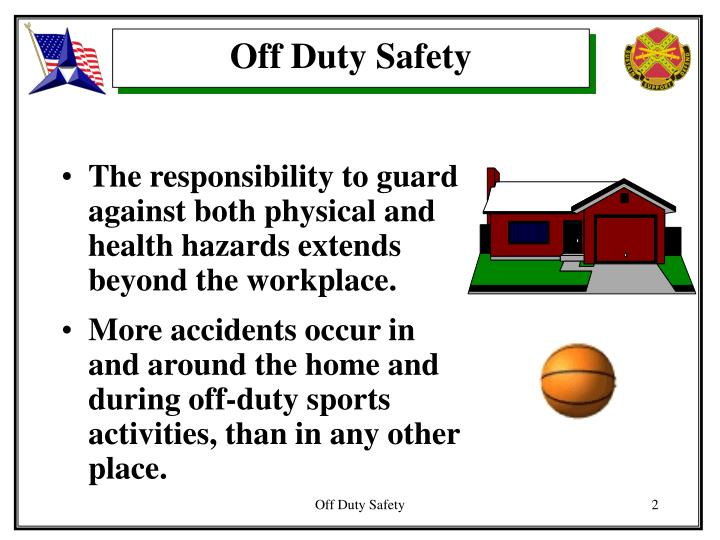 Off Duty Safety