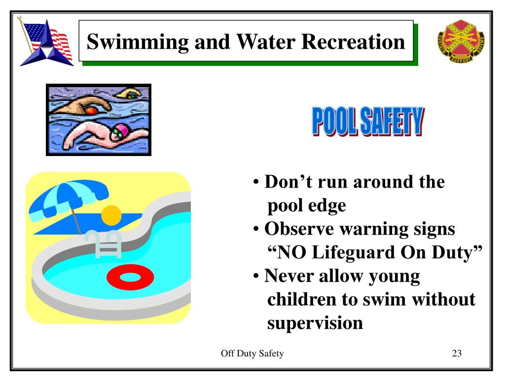 Swimming and Water Recreation