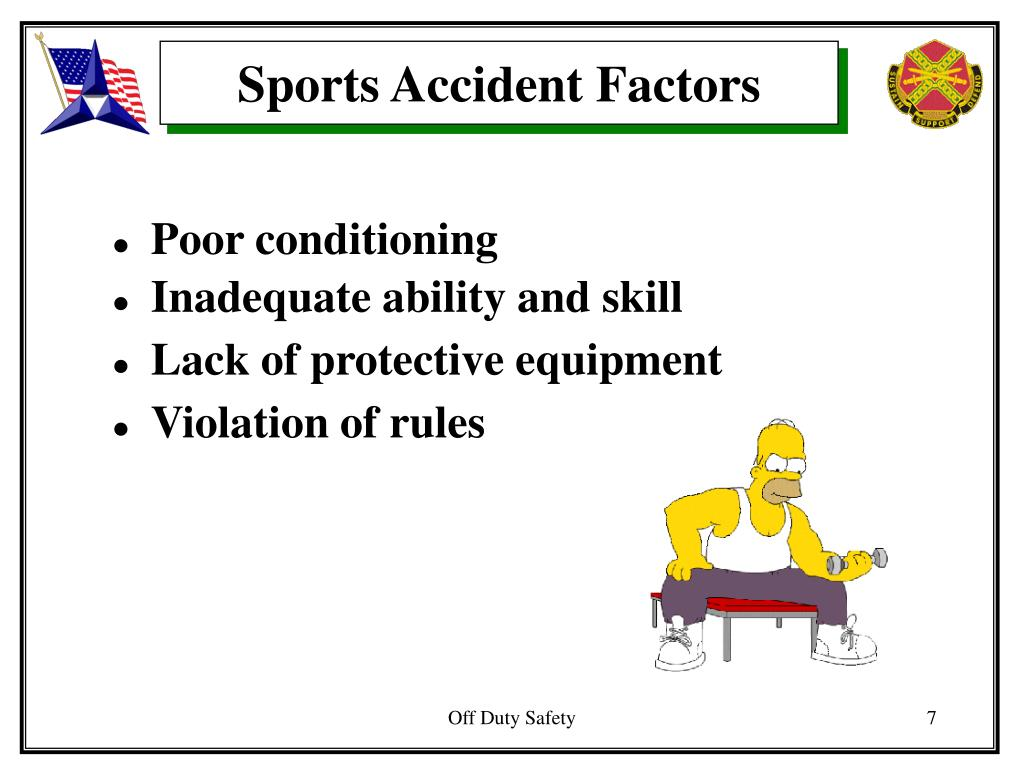 Sports Accident Factors