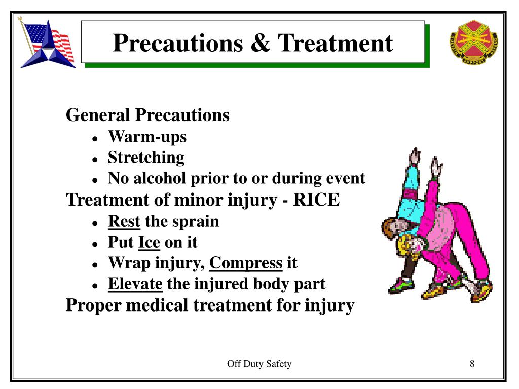 Precautions & Treatment