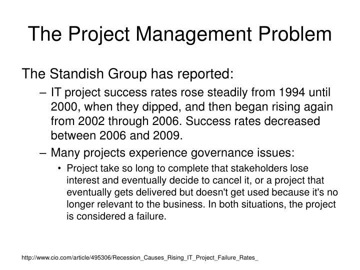 The Project Management Problem
