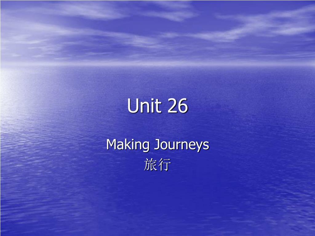 Unit 26