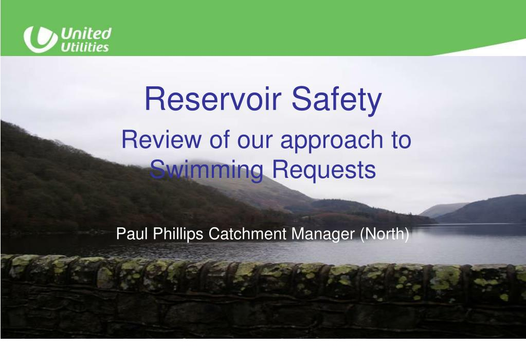 Reservoir Safety