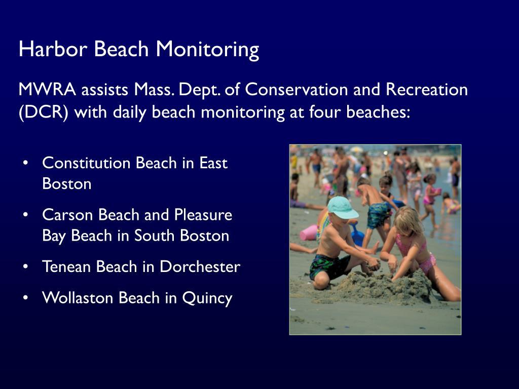 Harbor Beach Monitoring