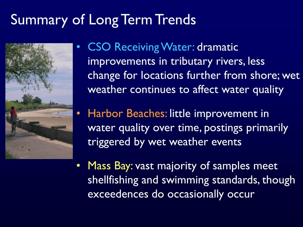 Summary of Long Term Trends