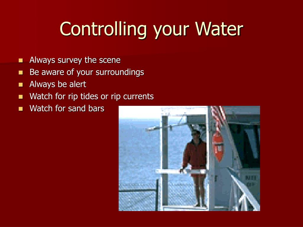 Controlling your Water