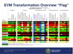 evm transformation overview flag