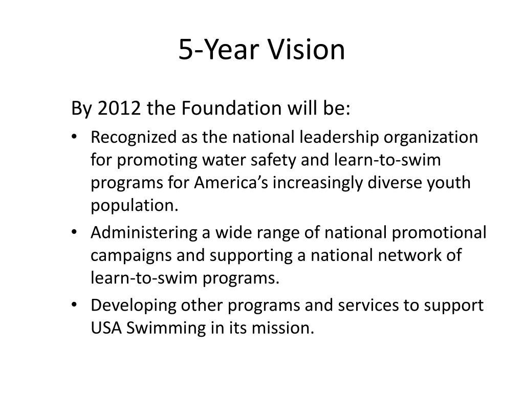 5-Year Vision