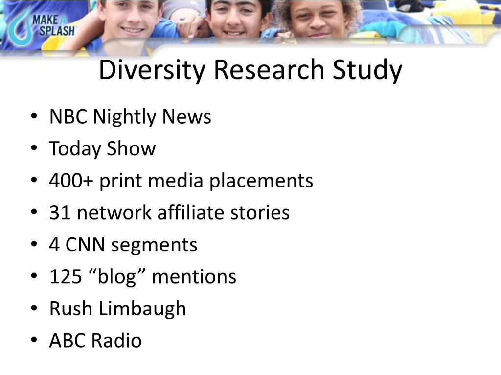 Diversity Research Study
