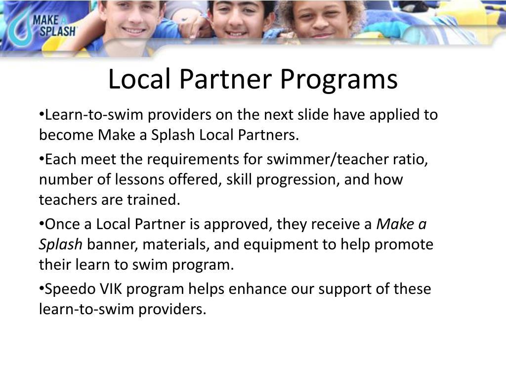 Local Partner Programs