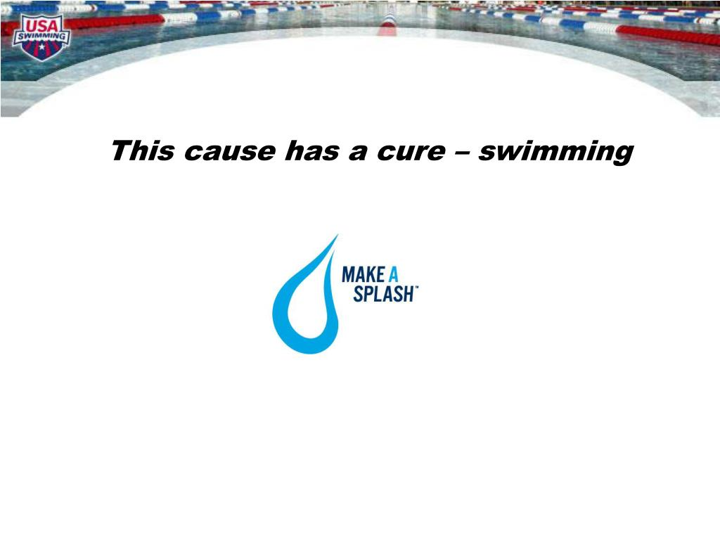 This cause has a cure – swimming