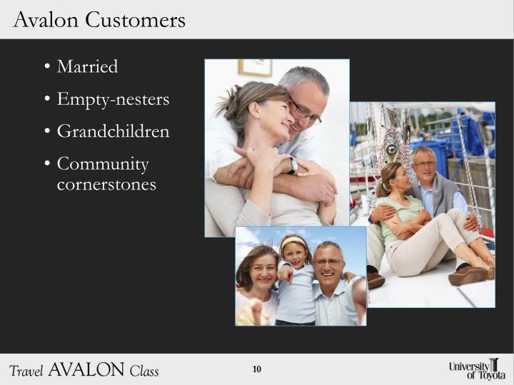 Avalon Customers