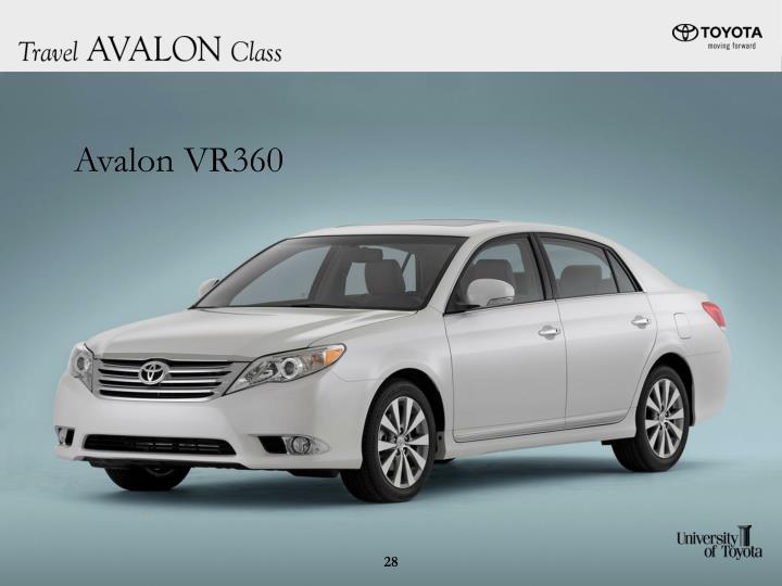 Avalon VR360