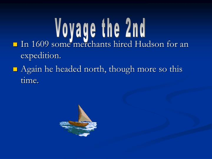Voyage the 2nd