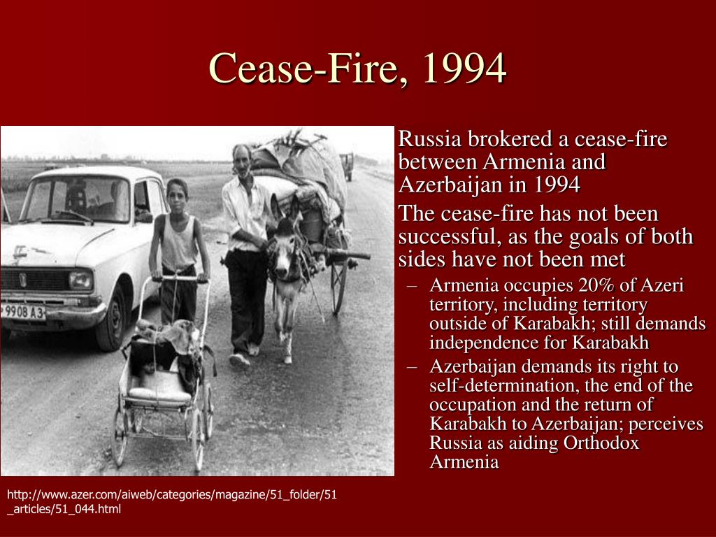 Cease-Fire, 1994