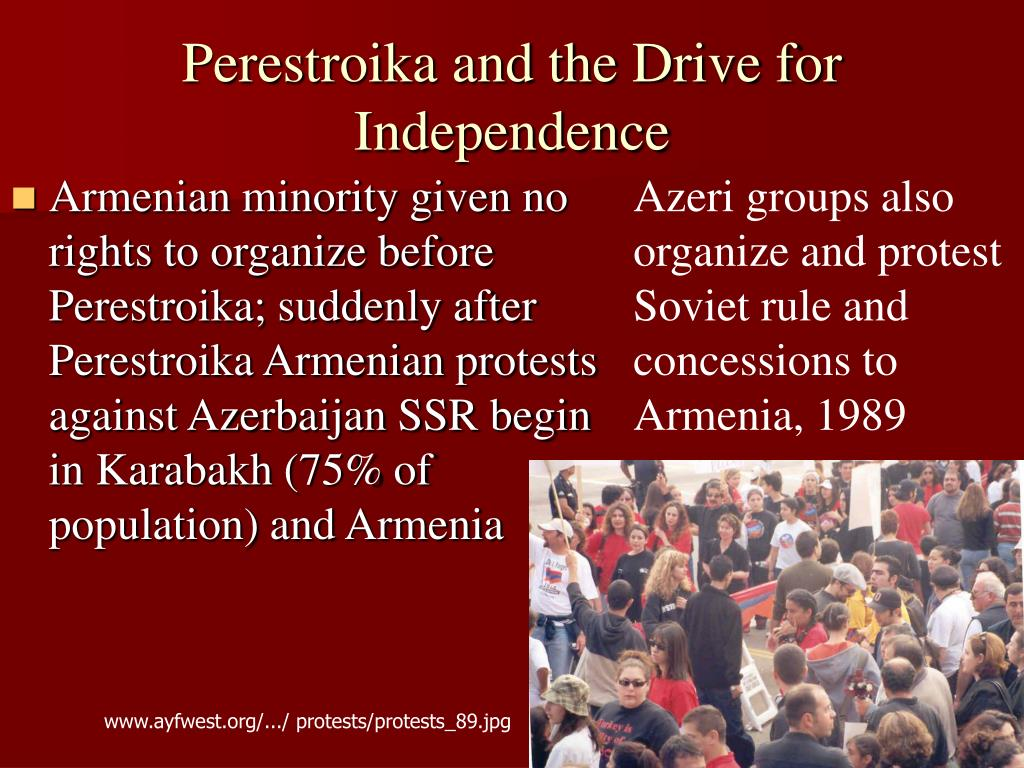 Perestroika and the Drive for Independence