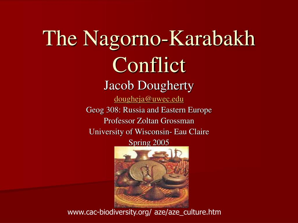 The Nagorno-Karabakh Conflict